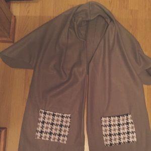 Handmade, new, fleece scarf/shawl/wrap